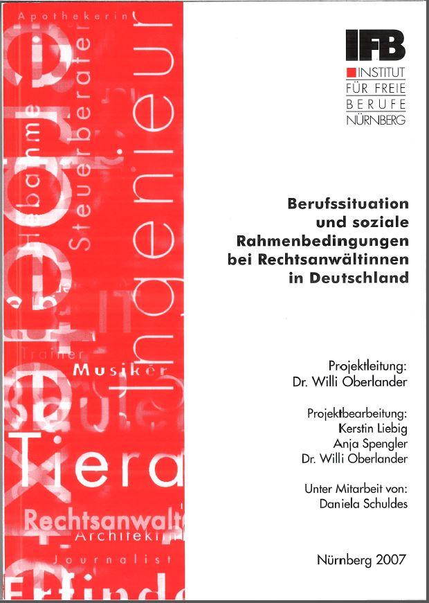 Berufssituation und soziale Rahmenbedingungen