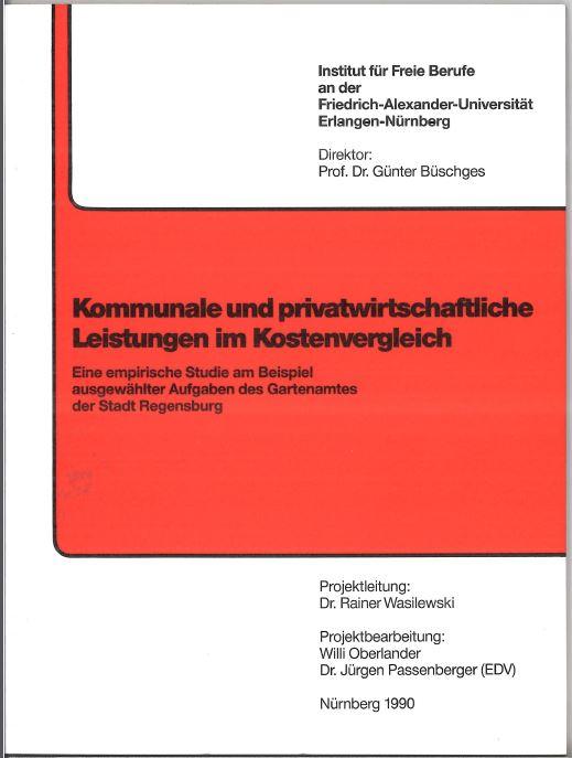 Kommunale und privatw. Leistungen