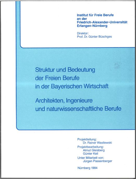 Struktur und Bedeutung FB in bayr. Wirtschaft