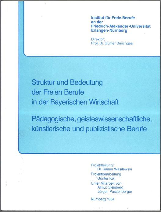 Struktur und Bedeutung der FB in abyr. Wirtschaft 1984